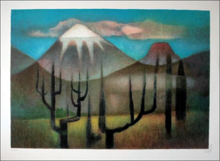 Qui a peint Montagnes ?