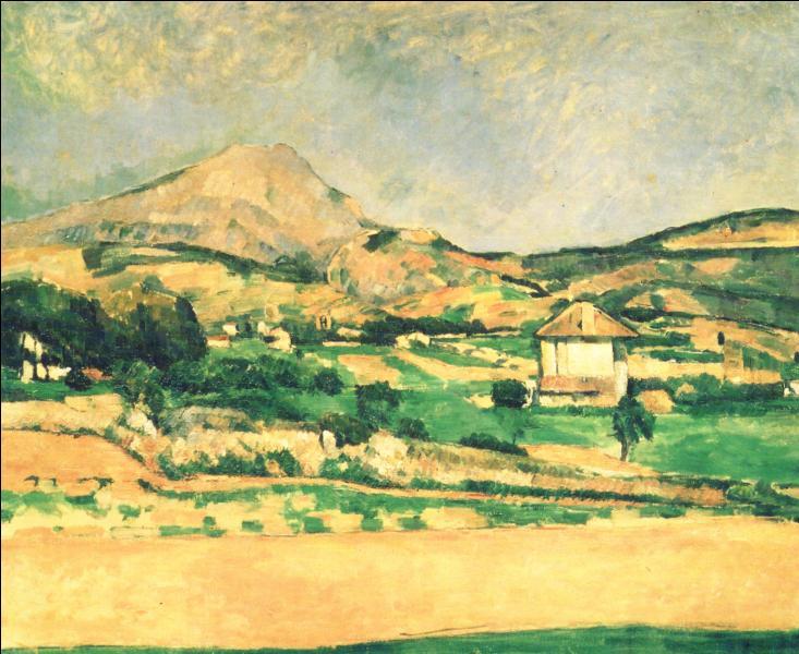 Qui a peint Paysage de la montagne Sainte Victoire ?