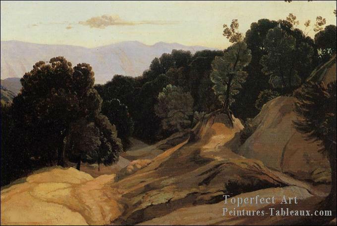 Qui a peint Route à travers la montagne ?