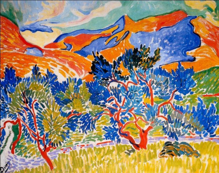 Qui a peint Montagnes à Collioure ?