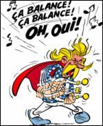 """Dans """"Les Aventures d'Astérix"""", qu'est-ce qui n'est pas une composition du barde Assurancetourix ?"""