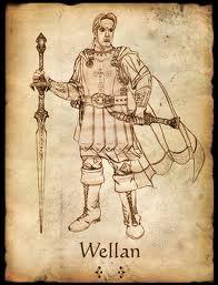 Qui est l'Écuyer de Wellan dans le tome 1 ?