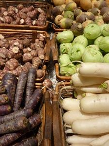 Fruits et légumes oubliés