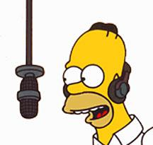 Les Chanteurs dans les Simpson