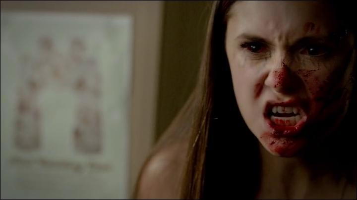 Elena décide de se nourrir du sang...