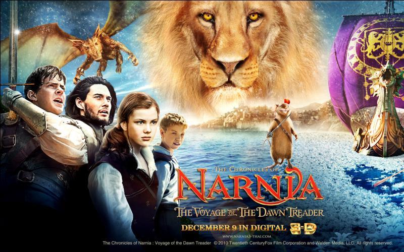 Position n°25.  Les Chroniques de Narnia  sont inspirées par une saga littéraire parue dans les années 1950. Trois films ont déjà été adaptés. Combien de tomes ont été écrits ?