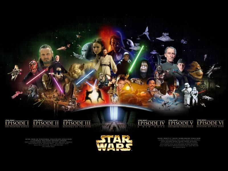 Position n°5. Avec plus de 4 milliards de dollars drainés à travers le monde, la saga  Star Wars  est incontournable aujourd'hui. Combien de films comporte-t-elle ?