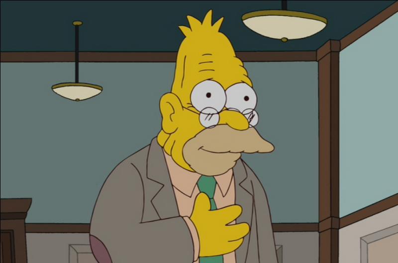 C'est tout simplement le père d'Homer Simpson.