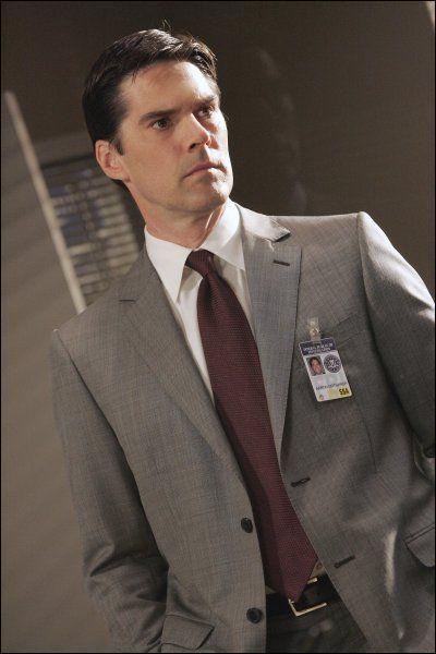 Qui joue le rôle de l'agent Aaron 'Hotch' Hotchner dans la série ?