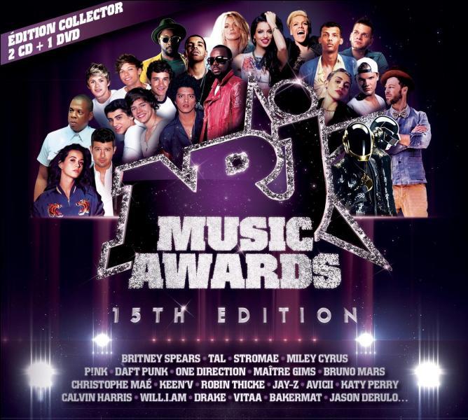 Aux NRJ Music Awards, qui a gagné le prix de l'artiste masculin international de l'année ?