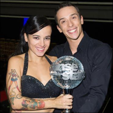 Qui a gagné lors de la saison 4 de  Danse avec les stars  ?