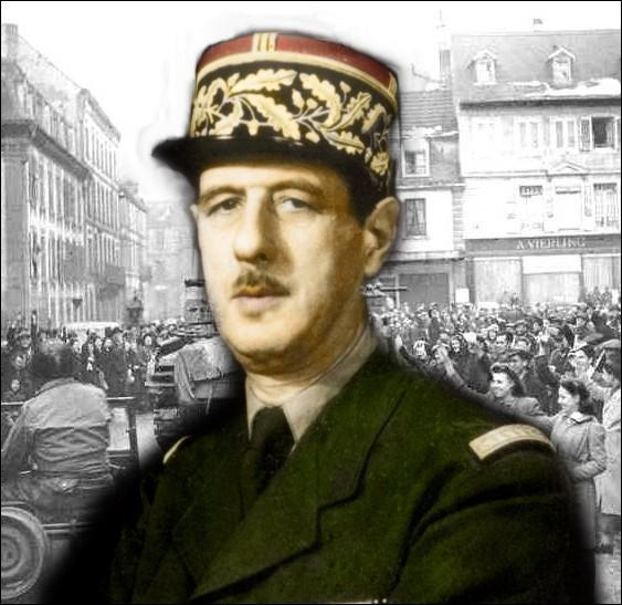 Chef de la France libre puis dirigeant du Comité français de Libération nationale pendant la Seconde Guerre mondiale, quel était le grade militaire de Charles De Gaulle au début de la guerre en 1939 ?