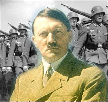 Fondateur et figure centrale du nazisme, Adolf Hitler devient chancelier du Reich en quelle année ?