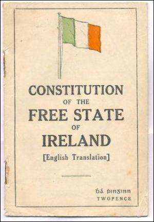Lors des années suivantes, l'Irlande est mise à feu et à sang. Le 06 décembre 1921, a lieu la signature du Traité anglo-irlandais qui met fin à la guerre d'indépendance. Que décide ce traité ?