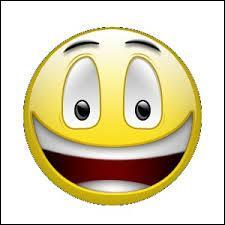 Quel est le smiley qui est content ?