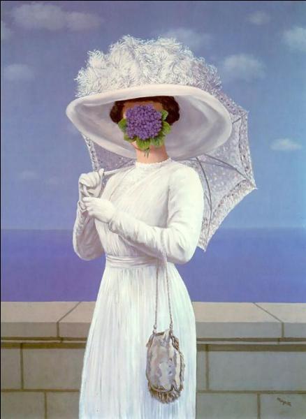 Célèbre création de René Magritte, c'est  La grande ...