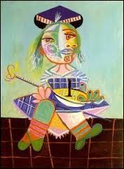 Tableau de Picasso c'est  ... ... au bateau