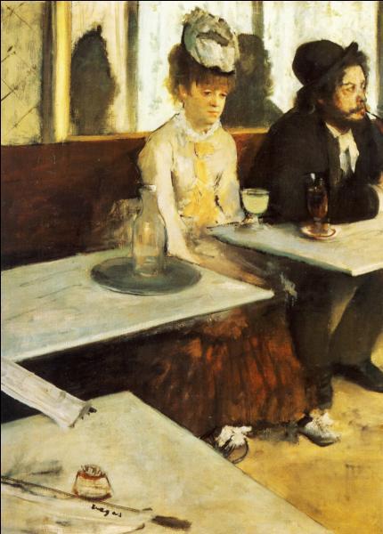 Célèbre toile d'Edgar Degas il s'agit de ... ...