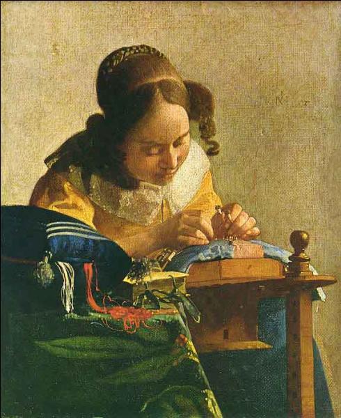 Toile de Vermeer, c'est la ...