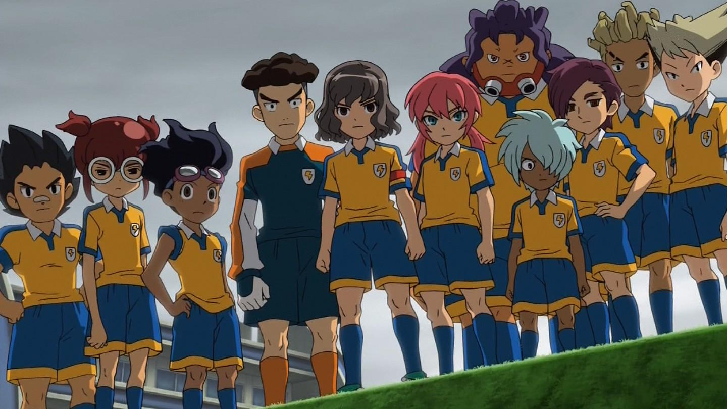 Inazuma Eleven Go : Personnages