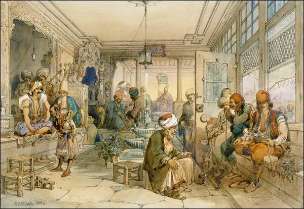 En 1555, Shems et Heckhem, deux Syriens, ouvrirent le premier débit de café dans le quartier de Talchtacalah. Mais dans quelle ville se situe ce quartier ?