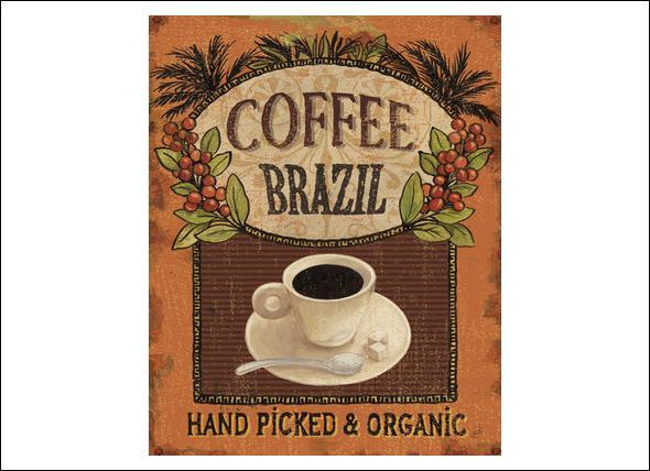 D'autres continents se mirent à exporter du café. En quelle année, le Brésil entra-t-il sur le marché ?