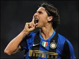 Durant quelle période Zlatan évolua-t-il sous le maillot de l'Inter Milan ?