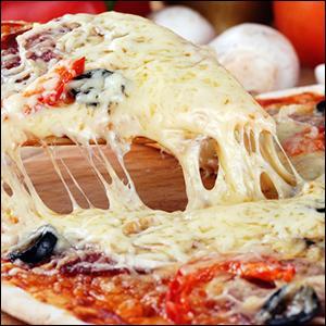 Je sens que je vais me régaler avec cette pizza au fromage ! Pardon, que dites-vous, ce n'est pas du fromage, mais alors qu'est-ce-que c'est ?