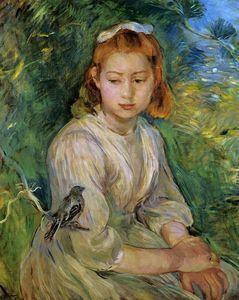 Portraits avec un oiseau