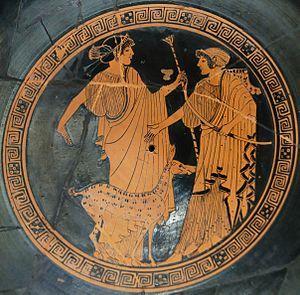 La musique et la poterie - Grèce antique