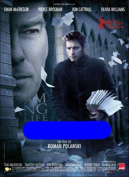 Quelle est la fonction politique du personnage de Pierce Brosnan dans ce thriller de Roman Polanski ?