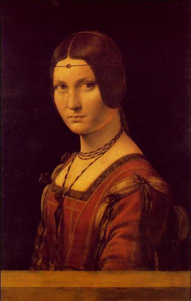 Léonard de Vinci a peint la maîtresse de François 1er :