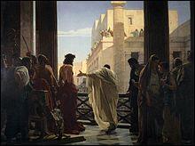 Histoire - Qui est connu pour avoir ordonné l'exécution de Jésus de Nazareth ?
