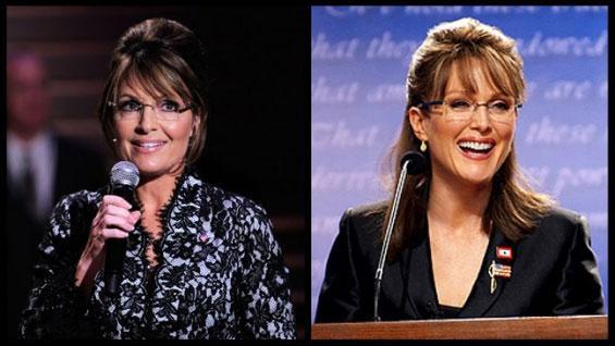 Sarah Palin (première femme gouverneur de l'Alaska) vs Julianne Moore. Laquelle est Julianne Moore ?