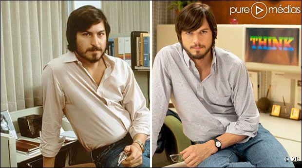 Steve Jobs (Directeur Général d'Appel) vs Ashton Kutcher. Lequel est Steve Jobs ?