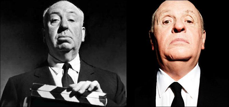 Alfred Hitchcock vs Anthony Hopkins. Lequel est Anthony Hopkins ?