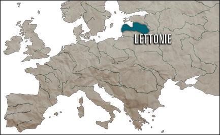 Des trois états baltes (Lettonie, Lituanie, Estonie), la Lettonie est-elle celui qui possède le produit intérieur brut le plus important ?