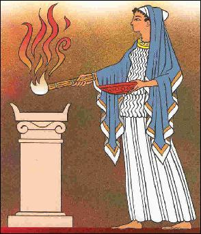 Qui est la déesse du foyer ?