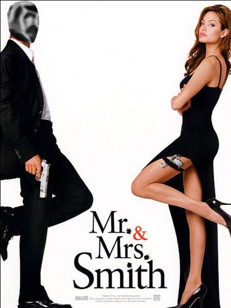 Scène de ménage au fusil mitrailleur pour le couple Smith. Qui joue Mr Smith aux côtés d'Angelina Jolie ?
