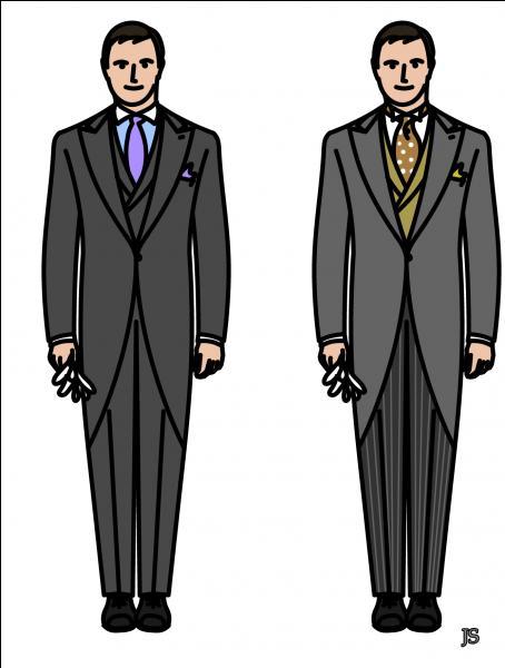 Pour la cérémonie de clôture de ce quiz, mettez-vous sur votre 'trente-et-un' ! Les hommes porteront cette veste dont les pans ouverts se prolongent par-derrière. Les dames assortiront cette veste ajustée à la taille à une jupe.