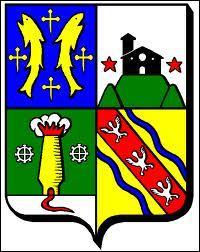 Je vous présente le blason de la ville de Mont-Saint-Martin. Cette commune se trouve ...