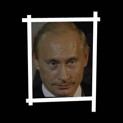 Célèbre sur l'Internet, la photo de Vladimir Poutine et de _____ a fait le tour du monde.