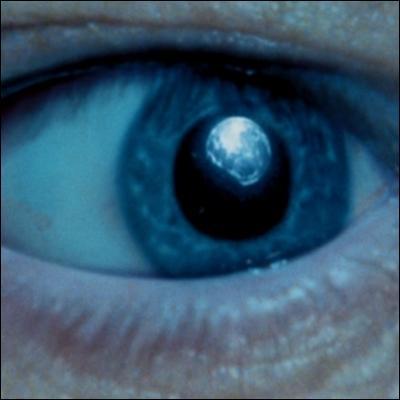 Avec son télescope, le professeur Sinistra peut voir les choses de très près... De quel œil s'agit-il ?