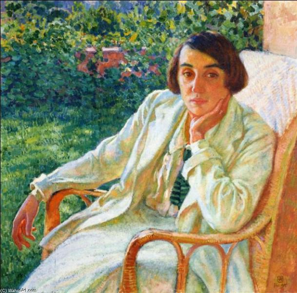 Qui a peint Elisabeth à la chaise cannée ?