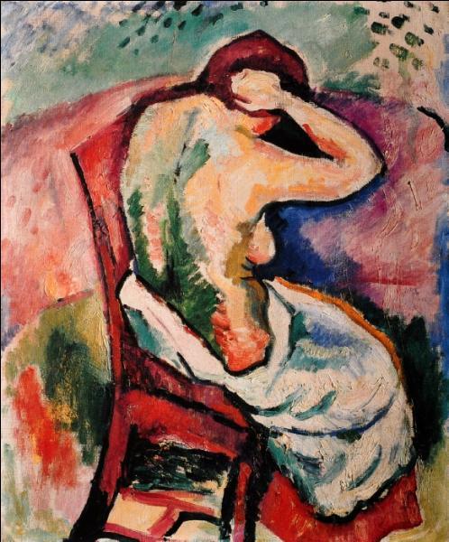 Qui a peint Femme assise se coiffant ?