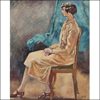 Qui a peint Madame Zeppe Dupont sur une chaise ?