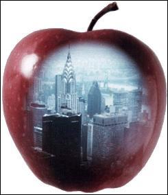 Quelle ville est surnommée 'Big apple' (la Grosse pomme) ?