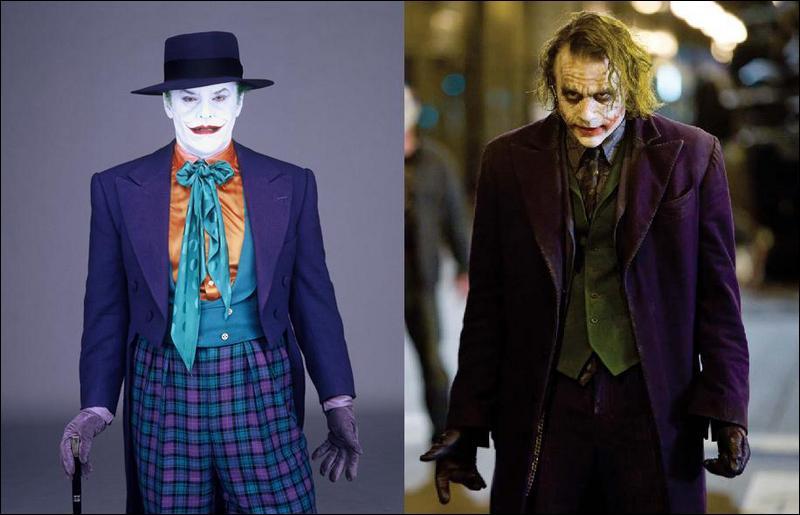 Dans les films BATMAN, quel méchant est interprété à la fois par Jack Nicholson et par Heath Ledger ?