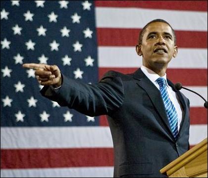 Barack Obama devient officiellement président des Etats-Unis d'Amérique le ;