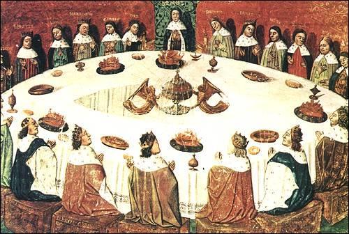 Lequel de ces personnages ne fait pas partie des chevaliers de la Table ronde, qui entourent le roi Arthur ?